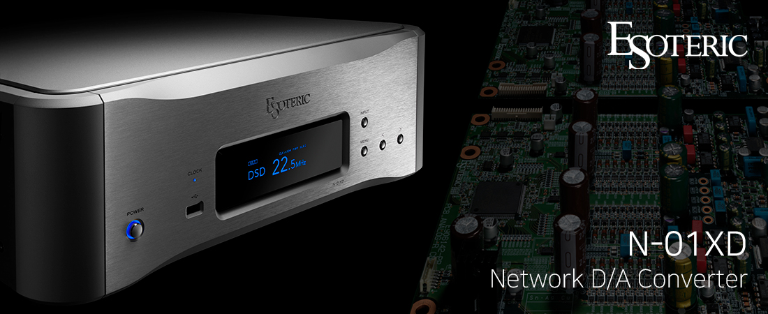 Esoteric N-01XD Network DAC