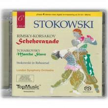 림스키코르샤코프 세헤라자데 차이코프스키 슬라브 행진곡 / Stokowski Rimsky Korsako Scheherazade Tchaikovsky Marche Slav / SACD